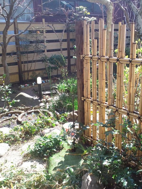 竹垣修理植樹