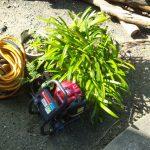庭木の消毒道具